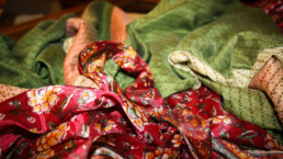 vestaglia di seta